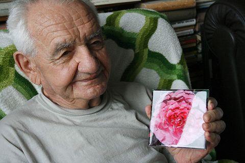 Der ungarischen Rosenzüchter Márk Gergely